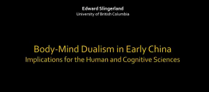 ASU Center for Evolution & Medicine – Mind-Body Dualism in Ancient China